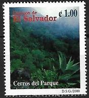 EL SALVADOR - MNH 2000 - Biodiversidad Del Parque Nacional El Imposible : Cerros Del Parque : Agave ... - Andere