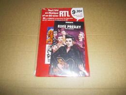 Bande Dessinée Elvis Presley  + 1CD + 1 Biographie (neuf Sous Blister) - Magazines Et Périodiques