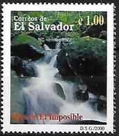 EL SALVADOR - MNH 2000 - Biodiversidad Del Parque Nacional El Imposible : Rio De El Imposible - Andere