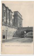 MONTPELLIER   L'ARC DE TRIOMPHE ET LE PONT DU PEYROU    (EDIT BACARD ) - Montpellier