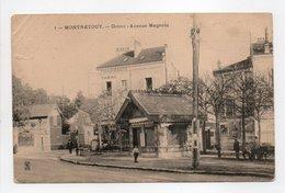 - CPA MONTRETOUT (92) - Octroi - Avenue Magenta - N° 1 - - Autres Communes