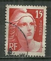 FRANCE Oblitéré 832 Type Marianne De Gandon - Oblitérés