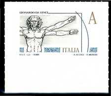 """ITALIA / ITALY 2015** - Leonardo Da Vinci - """"Uomo Vitruviano"""" - 1 Val. MNH, Autoadesivo. - Celebrità"""