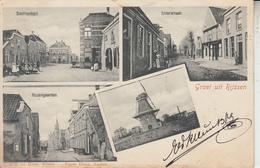 Groet Uit RIJSSEN - Multivue - Moulin à Vent Windmolen Enterstraat Rozengarden  PRIX FIXE - Rijssen