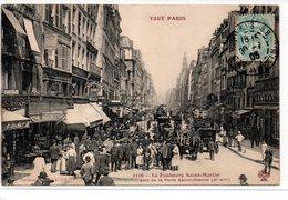 """Paris : Série """" Tout Paris """" N° 1116 Le Faubourg Saint Martin   X Ar - Francia"""