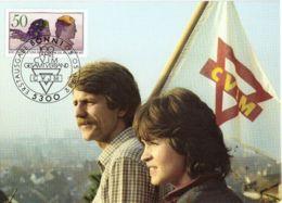 CPJ Allemagne 1982   Association Chrétienne Des Jeunes Hommes YMCA Centenaire 1882 - Christianisme