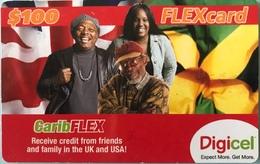 CARAÏBES  -  Prepaid  -  FLEXcard  -  Digicel  -  $100 - Altri – America
