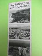 Dépliant Accordéon à 3  Volets En Anglais /Espagne/SPAIN/ Las Palmas De Gran Canaria//Vers 1950     PGC399 - Tourism Brochures