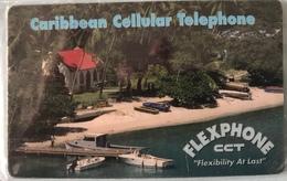 CARAÏBES  -  Prepaid  - Caribbean Cellular Telephone  -  FLEXPHONE CCT  -  $20 - Altri – America