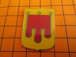 320 Pin's Pins / Belle Qualité & Rare / THEME AUTRES : GRAND PIN'S ATLAS BLASON ECUSSON ARMOIRIES AUVERGNE - Pins