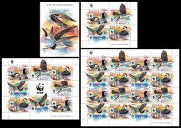GUINEA 2015 - WWF Complete Perf. Set - YT CV=139 €, 8098-8101 + BF1887 - W.W.F.