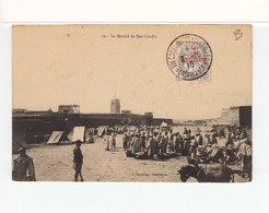 Sur CPA De Dar Chaffaï CAD Trésor Des Armées Casablanca 1910 Sur Timbre Français Surchargé 1 Centimo. (3538) - Maroc (1891-1956)