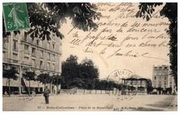 92 BOIS COLOMBES - Vue De La Place De La République. - Autres Communes