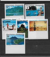 Polynésie N°97/102 - Non Dentelés - Neufs ** Sans Charnière - N°102 Petite Adhérence - TB - French Polynesia