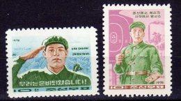 North Korea 1970  Michel 948/49  Mnh - Corea Del Norte