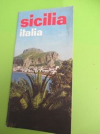 Guide Touristique/Italie/ SICILE/SICILIA/Office National Italien De Tourisme//Vers 1950-1960                PGC401 - Tourism Brochures