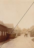 1894 Photo De Leerbeek Gooik Centre Du Vilage - Alte (vor 1900)