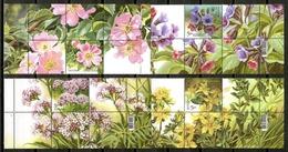 Ukraine 2018 Ucrania / Flowers MNH Flores Blumen Fleurs / Cu16114  31-48 - Sin Clasificación