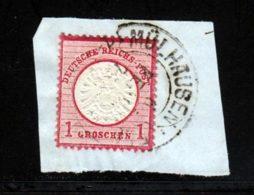 Allemagne Empire 1872 Yvert 16 (o) B Oblitere(s) - Germany