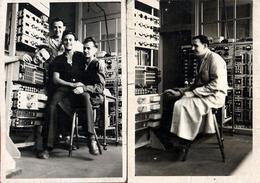 2 Photos Originales Aéronautique - Les Techniciens De EFW A été Fondée En 1955 - Professions