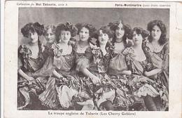 Cpa -spect.-les Cherry Goblers-pas Sur Delc. /not On Delc.-English Tabarin Troop-paris Montmartre - Cabarets