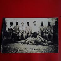 CARTE PHOTO MALI GROUPE DE SOLDAT - Cartes Postales