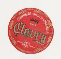ETIQUETTE DE CAMEMBERT HERGAULT 76 I CLAURY - Quesos