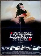 Aff Ciné Orig L INSOUTENABLE LEGERETE DE L ETRE ( JULIETTE BINOCHE DANIEL DAY LEWIS M.KUNDERA) 40x60 1987 - Affiches & Posters