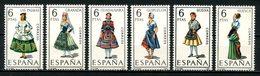 ESPAGNE 1968 N° 1524/1529 ** Neufs MNH Superbes C 1,50 € Costumes Féminins Granada Huesca Huelva Las Palmas Suits - 1931-Aujourd'hui: II. République - ....Juan Carlos I