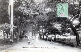 Avenue D'entrée - Partie Du Camp De St Denis En 1912 - Cayenne