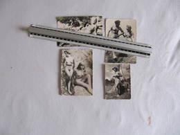 Lot De 4 Photos érotiques Années 50 - Format : 12 X 8 Cm  - Sauf Une : 9 X 6 Cm - Beauté Féminine (1941-1960)