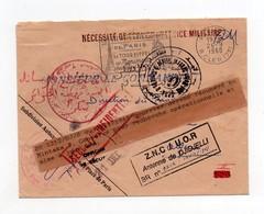 !!! PRIX FIXE: GUERRE D'ALGERIE, LETTRE ADMINISTRATIVE DU 26/9/1960 DEROBEE ET RECUPEREE LORS D'UNE OPERATION - Guerra D'Algeria