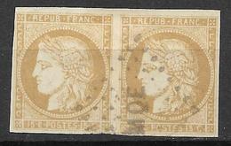 Martinique 1872 (pair Slightly Broken) - Martinique (1886-1947)