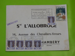 La Roche Sur Foron - Haute Savoie - La Roche S/ Foron Flamme Sécap Foire Exposition De La Haute Savoie En Mai - Poststempel (Briefe)