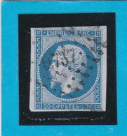 N° 14A    PC  2737   ROUBAIX   ( 57 )  NORD  - REF 14615 - 1853-1860 Napoleon III