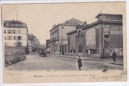 92 SCEAUX  Le Marché , Le Palais De Justice Et La Rue Houdan ,attelage Chevaux Avec Charette - Sceaux