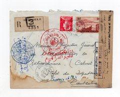 !!! PRIX FIXE: GUERRE D'ALGERIE, LETTRE DU 29/4/1956 INTERCEPTEE PAR L'ALN - Guerra D'Algeria