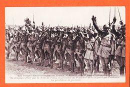SUN003 Troupes TCHECO-SLOVAQUES En FRANCE Remise Drapeau Par PARIS Prestation Serment 1913 à Commandant De SERE 77e Reg - Guerre 1914-18
