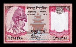 Nepal 5 Rupees 2005 Pick 53b SC UNC - Nepal