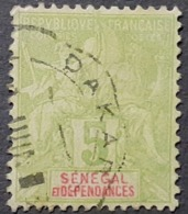 France (ex-colonies & Protectorats) > Sénégal (1887-1944) >    N°21 - Usati