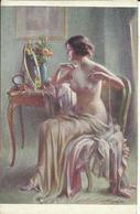 NU De D. ENJOLRAS , Les Perles ; Pearis ; Perly - Paintings