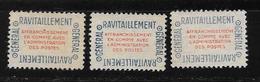 France: Timbre De Service N°15A* Sans Gomme (3 Exem) - Service