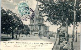 75 PARIS 7ème - Place Vauban Et Le Dôme Des Invalides    * - Arrondissement: 07