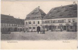 AK Langenzenn, Marktplatz, Ungel. - Langenzenn