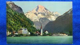 Flüelen Und Der Bristenstock Switzerland - UR Uri