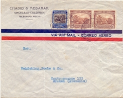 COLOMBIA AIR MAIL   (FEB201203) - Colombia