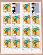 FRANCE - TINTIN - Hergé - BC N° 3305 X2 - Blocks & Kleinbögen