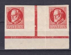 Bayern - 1917 - Michel Nr. WZ 12 B - UR - Ungebr. - Bavaria