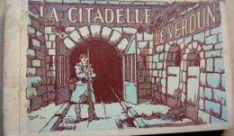 Carnet De 18 Cartes De   La Citadelle De Verdun - Verdun