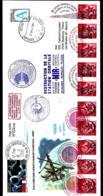 """DESTRUCTION DE LA STATION ORBITALE """"MIR"""" 23-03-2001 - KOROLEV - RUSSIE -  PARLEMENT EUROPÉEN - FDC & Commémoratifs"""